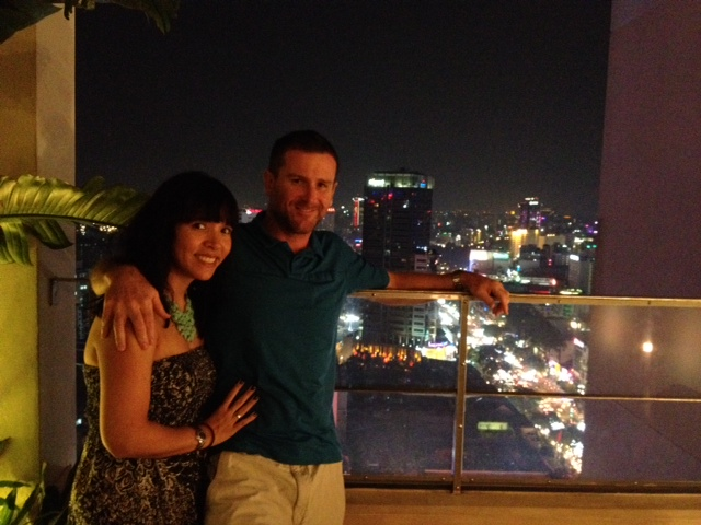 Andy and Steve in HCMC, December 2013