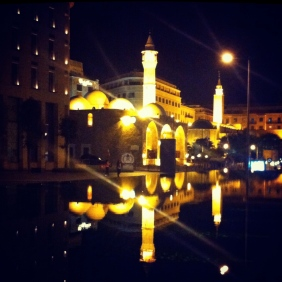 Downtown Beirut by Night