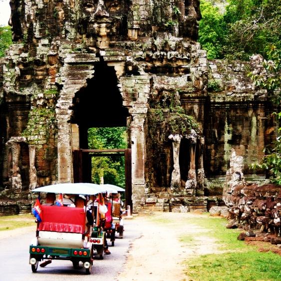 Exploring Angor Wat, Cambodia