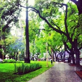 San Martin Plaza, Buenos Aires