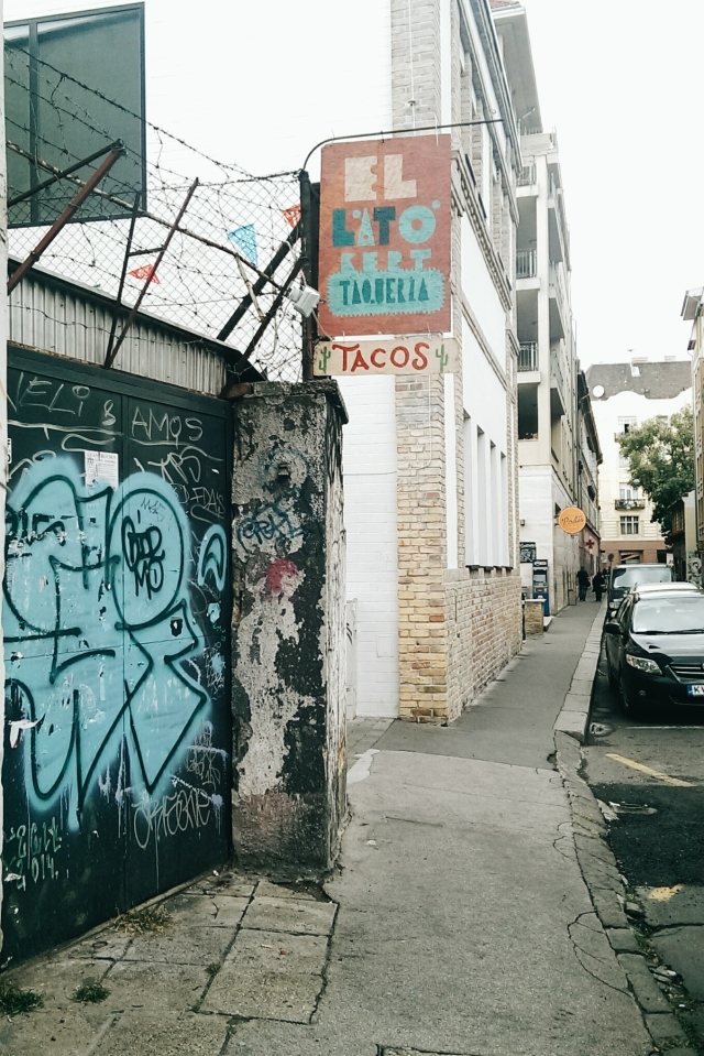 Tacos in Budapest.