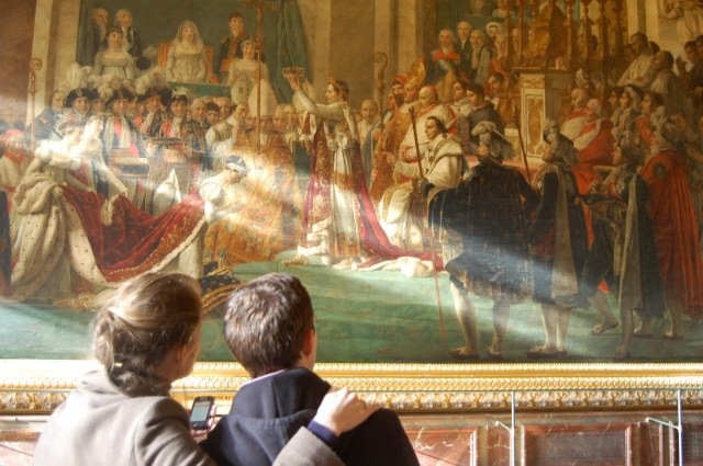 The Coronation of Napoleon, The Palace of Versaille, Paris, France
