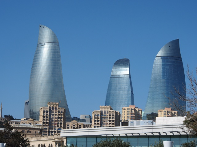 The Flame Towers/The Fairmont Hotel, Baku